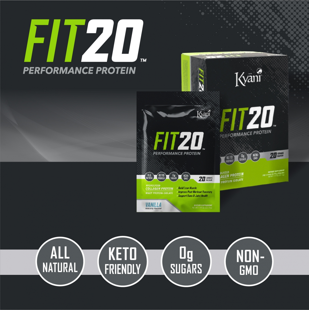 Kyani FIT20 - 2 Pack